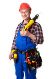 Male construction worker Stock Photos