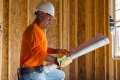 Male Construction Worker Royalty Free Stock Photo