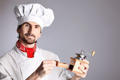 Male cook Stock Photography