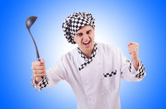 Male cook  Royalty Free Stock Photo