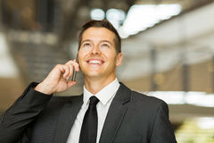 Male corporate worker Royalty Free Stock Photography
