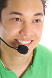 Male customer service Stock Image