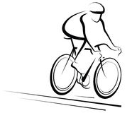 Male Cyclist Royalty Free Stock Image