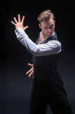 Male dancer Stock Images