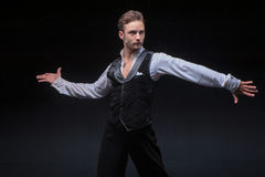 Male dancer Royalty Free Stock Photos
