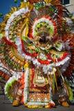 Male dancer in Junkanoo, Nassau royalty free stock photo