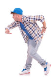 Male dancer looking away Royalty Free Stock Photography