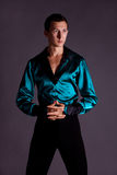 Male dancer. portrait Royalty Free Stock Photo