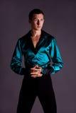 Male dancer. portrait Royalty Free Stock Photo