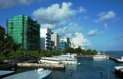 Male', de Maldiven stock fotografie
