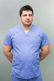 Male dentist doctor Royalty Free Stock Photography