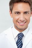 Male Dentist smiling Stock Photo