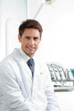 Male Dentist Smiling Royalty Free Stock Photos