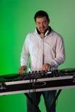 Male DJ Stock Photos
