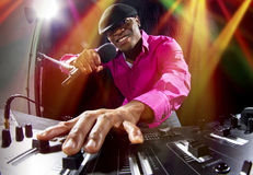 Male DJ Stock Images