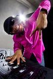 Male DJ Royalty Free Stock Image
