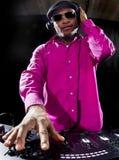 Male DJ Royalty Free Stock Photos