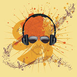 Male Dj Illustration Royalty Free Stock Photography