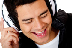 Male DJ singing Stock Photos