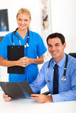 Male doctor assistant Royalty Free Stock Images