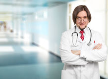 Male Doctor At The Hospital Stock Photos