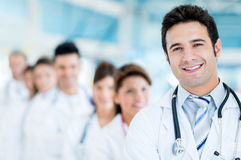 Male doctor at the hospital Royalty Free Stock Images