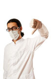 Male doctor isolated Stock Photography
