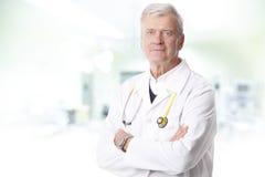 Male doctor portrait Stock Photos