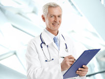 Male doctor portrait Stock Photography
