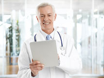 Male doctor portrait Royalty Free Stock Images
