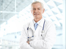 Male doctor portrait Stock Photos
