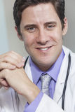 Male Doctor With Stethoscope Stock Image