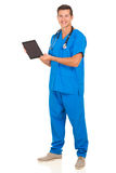 Male doctor tablet computer Stock Photos