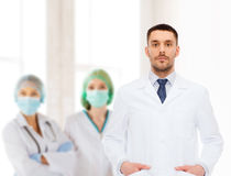 Male doctor in white coat Royalty Free Stock Photo