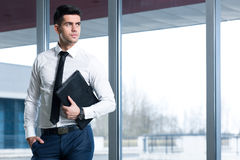 Male elegance at work Stock Images