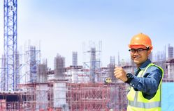 Male engineer Royalty Free Stock Photography