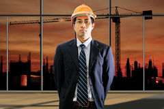 Male engineering Stock Image