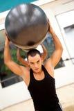 Male exercising Stock Photo
