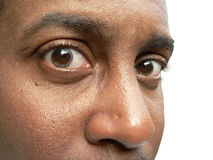Male eyes Stock Images