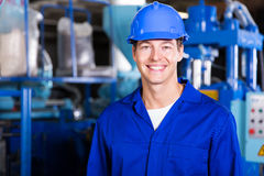 Male factory technician Stock Image