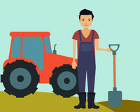 Male farmer Royalty Free Stock Photo