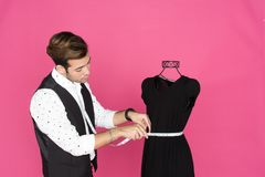 Male Fashion Designer Stock Photography