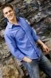 Male fashion model stock photography