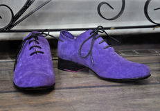 Male fashion shoes Royalty Free Stock Images