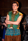 Male Fashion Show model and camera's stock photography