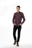 Male fashion in studio Royalty Free Stock Images