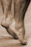 Male feet Royalty Free Stock Images