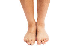 Male feet Royalty Free Stock Photo