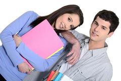 Male fellow student Royalty Free Stock Photos