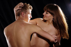 Male and female Stock Photo